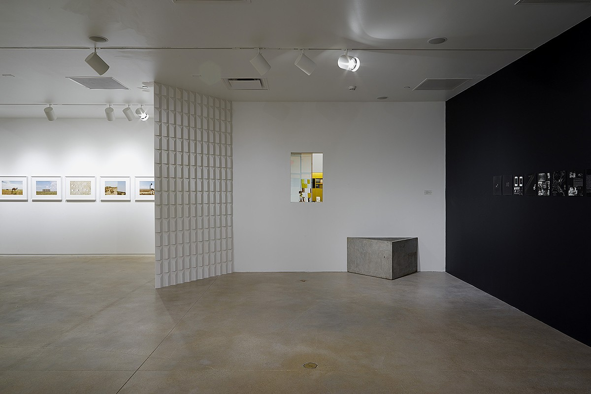 Installation view (Wall relief)