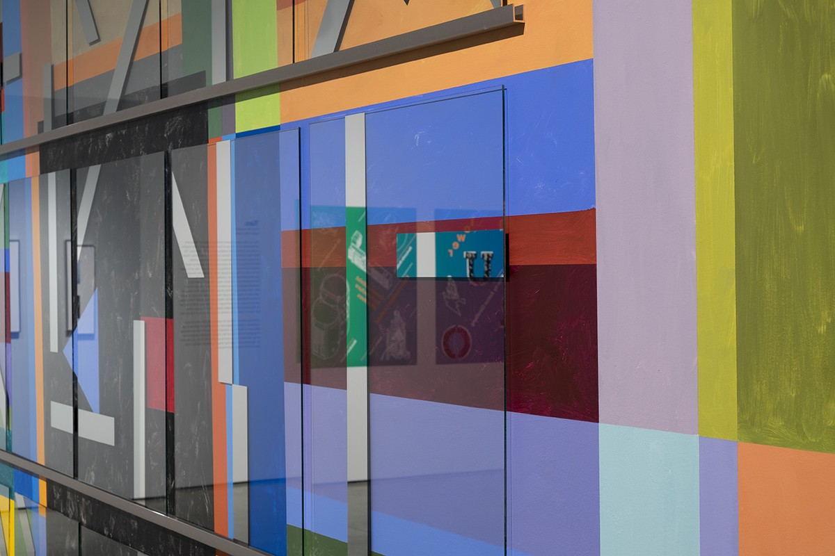 Mural 'COEV (Collective of Expanded Viewing) Color-Space Initiative 1'