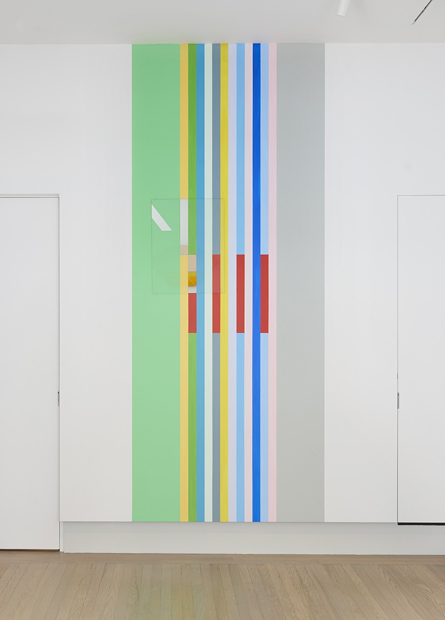 'New York Color-Space Initiative #5' and 'COEV Composition #12', 2019.