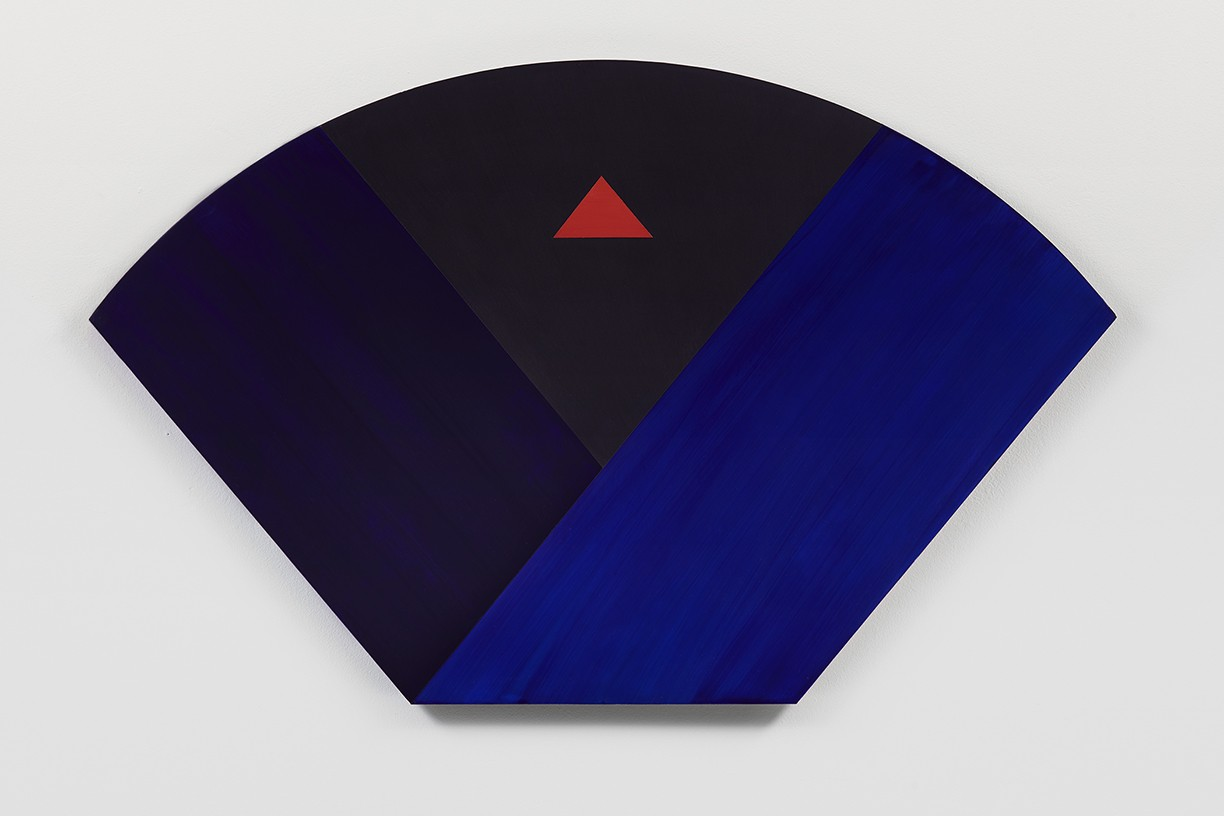 'VIEW_3A_01', 2018. Pigment and acrylic on wood. 25.5 × 36 inches.